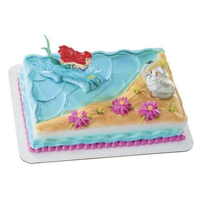 Disney Princess The Little Mermaid Ariel and Scuttle DecoSet® Cake