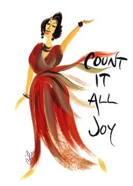Count It All Joy: Cidne Wallace Magnet
