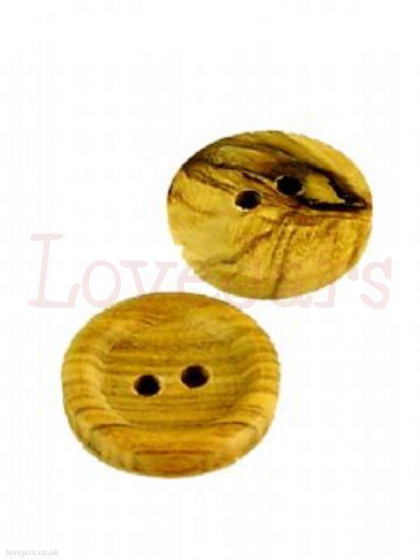 We love Round Wooden Button [5] - find them in our online shop under Rosie's Pantry: Jarcessorise, Buttons