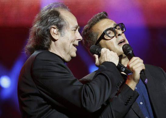 Joan Manuel Serrat y Andreu Buenafuente.