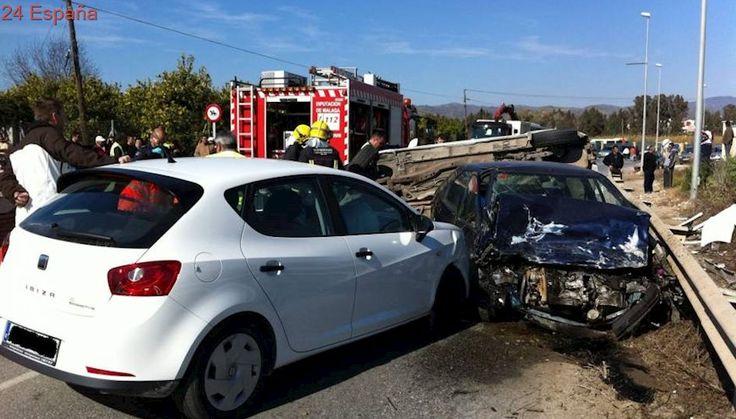 Mil siete muertos en accidentes de tráfico en los diez primeros meses, 22 más que en 2016