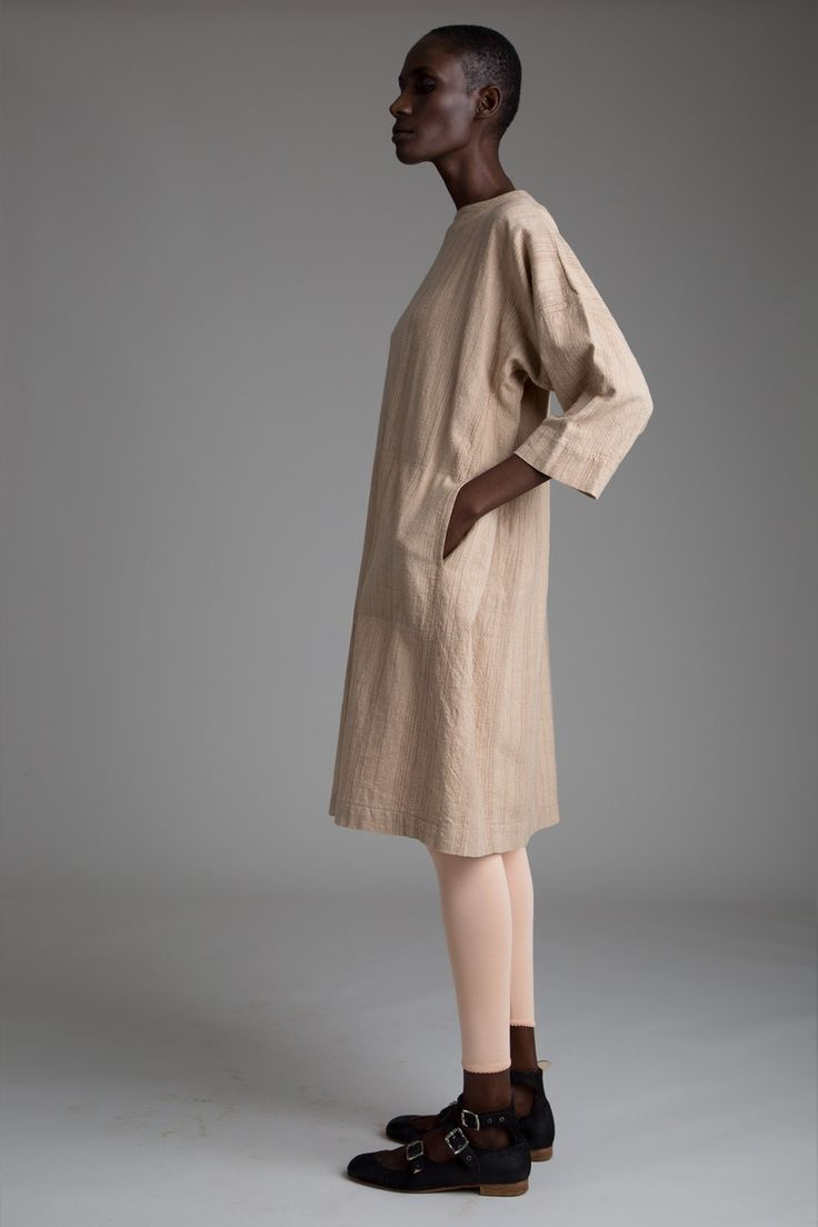 Issey Miyake Plantation Dress Vintage Alaia Leggings Designer Vintage Clothing Minimal Fashion