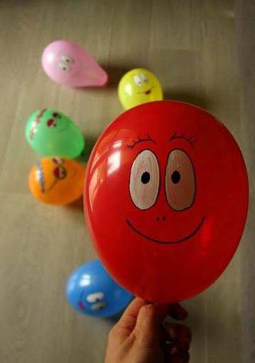 Palloncini colorati #barbapapa #barbafesta #barbaparty