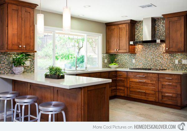 17 beautiful contemporary u shaped kitchen layouts for Kitchen design 8 8