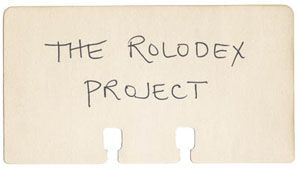 Leafcutter Designs - Projects, The Rolodex Project