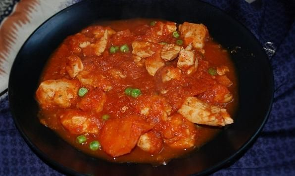 Slow Cooker Putenesca Chicken