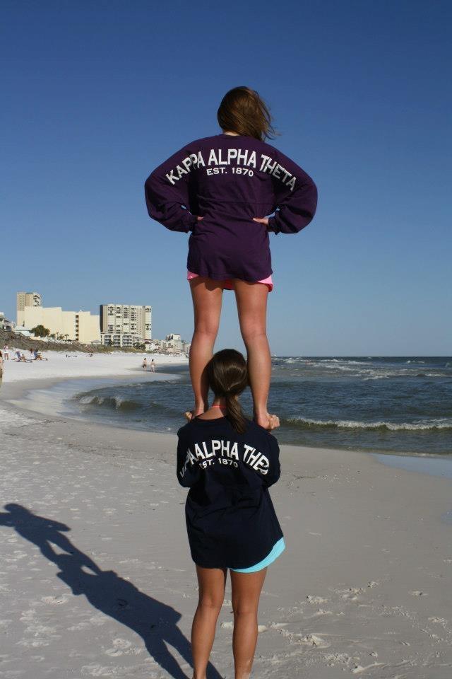 kappa alpha theta spirit jersey  kappaalphatheta  theta  spiritjersey  beach  cheer  sorority