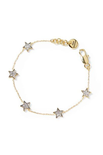 Tiny Star Bracelet. Love.
