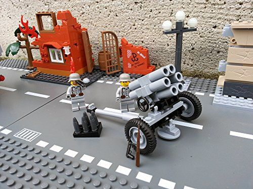 Modbrix 2182 - Bausteine Nebelwerfer 41 Stellung mit original Lego© Wehrmacht Soldaten Brigamo http://www.amazon.de/dp/B00T3G18FS/ref=cm_sw_r_pi_dp_o7bjvb15KYE22