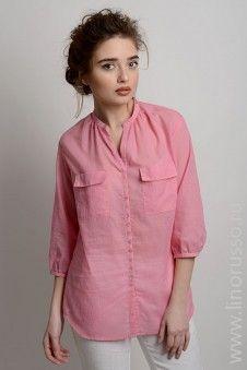 blouse #winter #autumn #LinoRusso #cotton #РусскийЛен