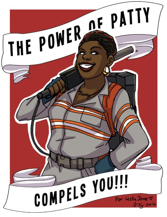 Fanart by jeandrawsstuff.tumblr.com. The power of Patty compels you!