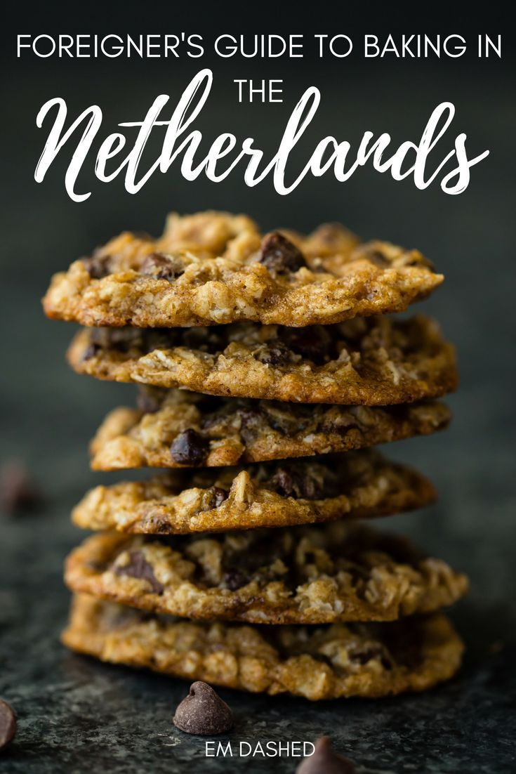 A handy guide to home baking in the Netherlands for foreigners -- including English to Dutch translations, metric to imperial conversions, and other tips, such as where to find certain baking ingredients. If you're American, an English-speaker, or just unfamiliar with Dutch recipes, this will help you get started!