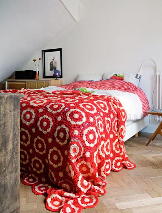 外国の大人かわいい♪カラフルなベッドルームのインテリア30                                                                                                                                                                                 もっと見る