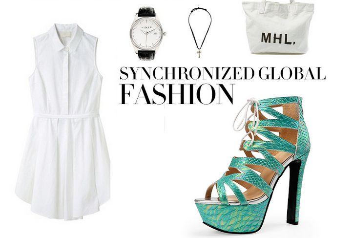 Белые платья и босоножки на платформе Картинки по запросу обувь реклама