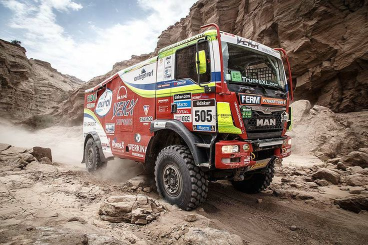 "rally semis | Dakar Rally 2014: The trucks story - ""Nobody will finish without ..."