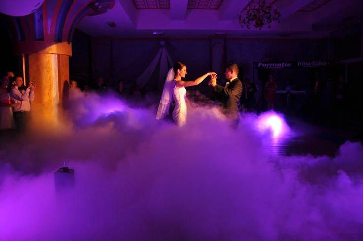 wedding low fog