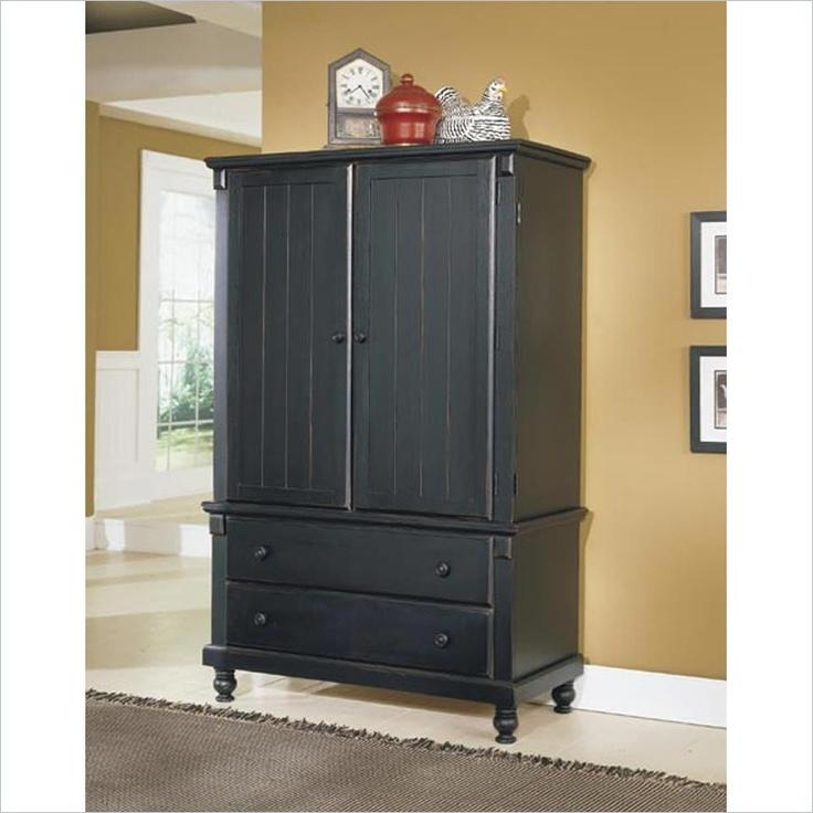 Homelegance Pottery Black TV Armoire  I want something similar for my tv...