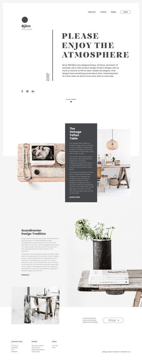 Website Design  Web of Life. Collection of Creative Web Design Concepts.