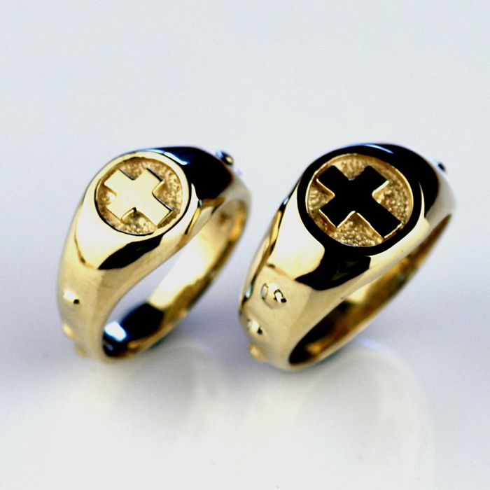 Catholic Antique Ring