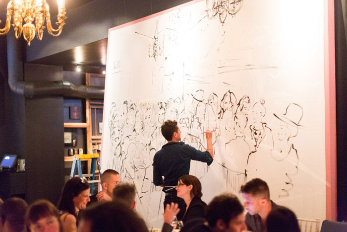 M.A.C. Mia Moretti Collection Launch Party - Hire an artist to paint your day!