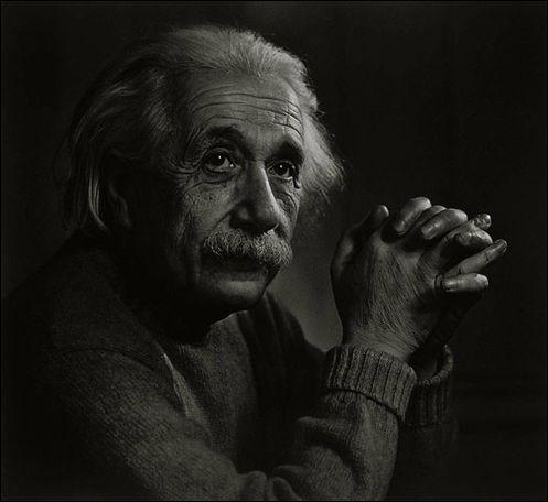 Photo Portraitist Yousuf Karsh, Albert Einstein portrait
