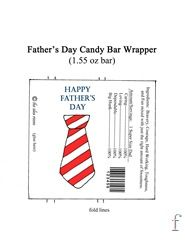 Father's Day candy car wrapper.  The back is a little too cheesy for my taste, but the front could be cute.