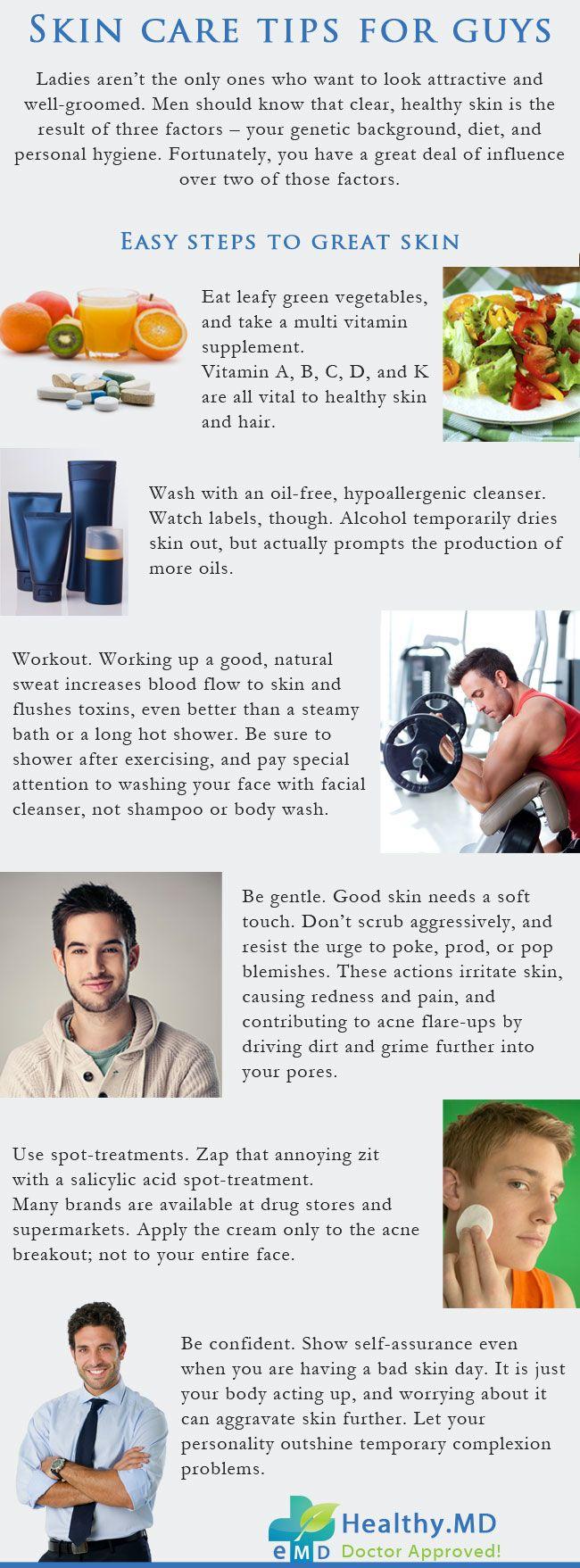 Skin Care Tips For Guys