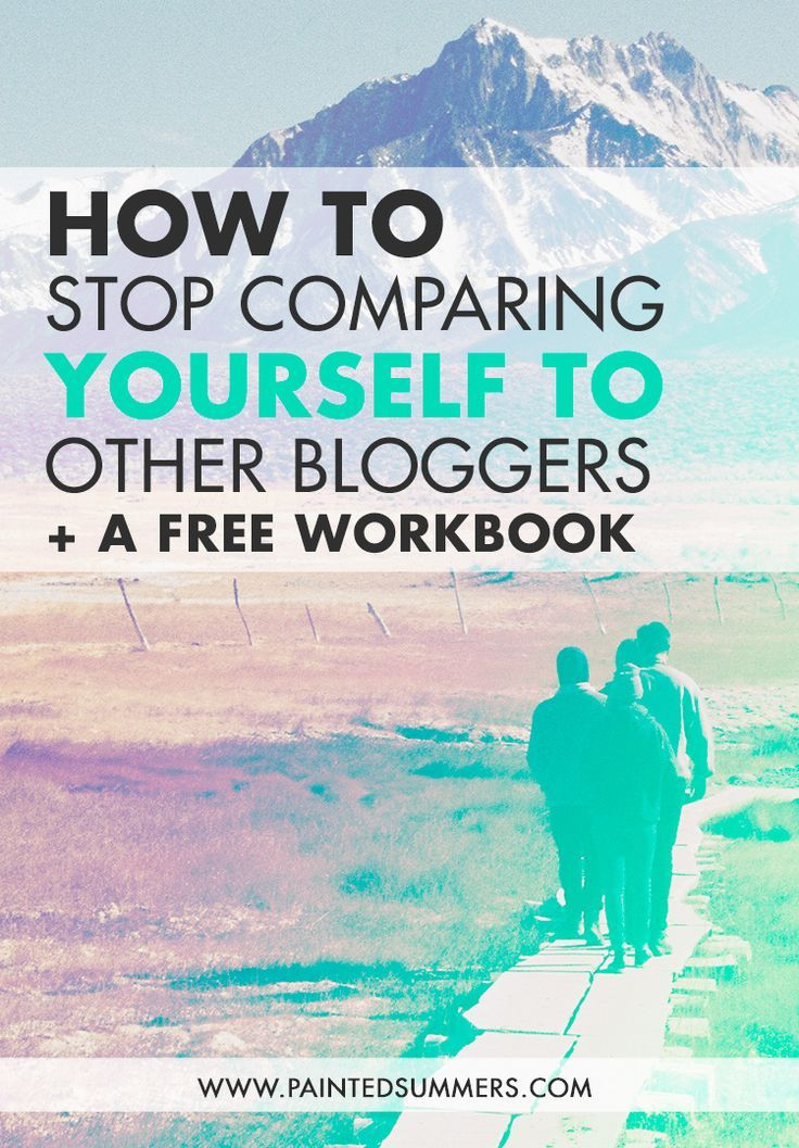 how to stop comparing yourself to others christian