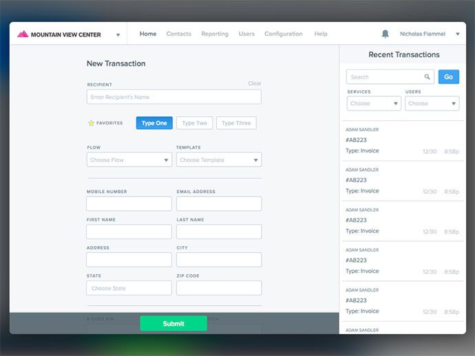 30 Stunning Web UI Form Designs