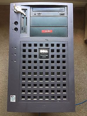Dell PowerEdge 2300 Tower Server w/Pentium II@400MHz/256MB RAM/No HDD POST