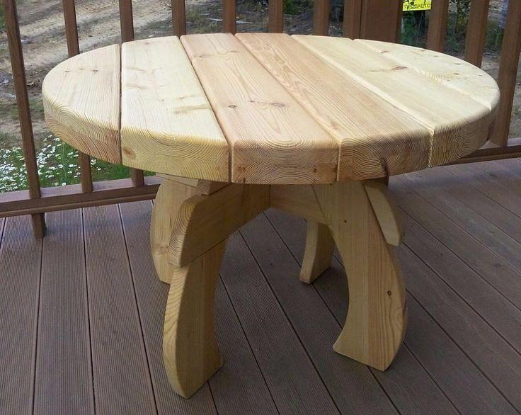 Купить деревянный стол для дачи и сада