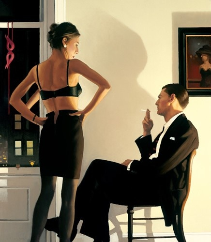 Art Prints Gallery - Night In The City (Limited Edition), £840.00 (http://www.artprintsgallery.co.uk/Jack-Vettriano/Night-In-The-City-Limited-Edition.html)