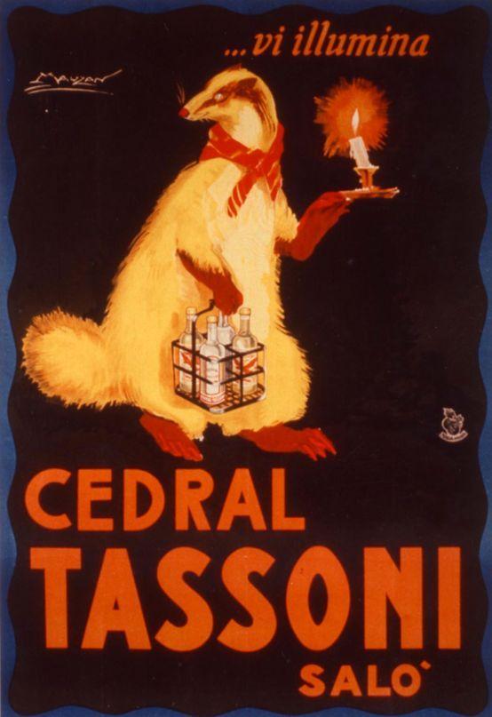 Pubblicità Tassoni 1920