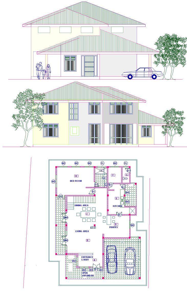 Sri Lankan Modern House Plans Modern Home Design Architectural Home Designs In Sri Lanka House Plans With Pictures House Plans House Plans With Photos
