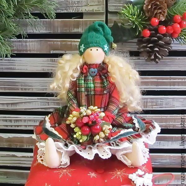 Принцесса на горошине Гномочка - Принцесса на горошине, в стиле тильда, гномочка, новый год 2016