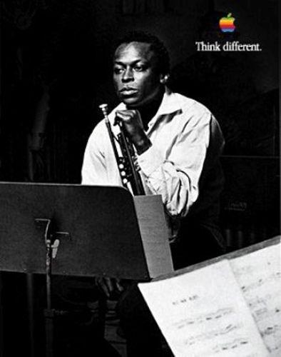 #celebrity_aspirations #apple 1997-1998 Miles Davis