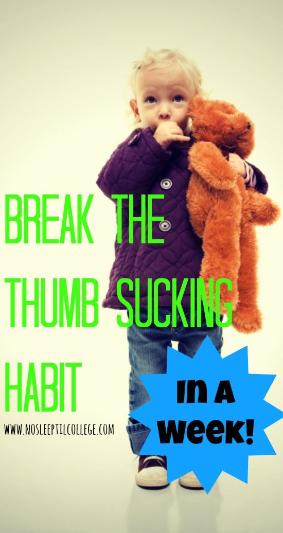 thumb sucking