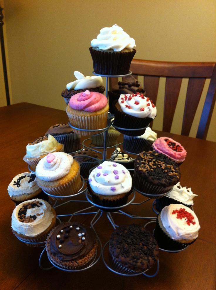 All of the cupcake!!! CUPCAKE TREE :) by Jennifer