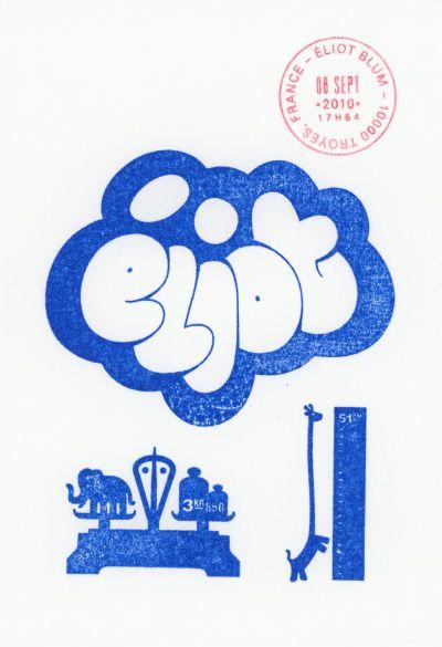 Éliot's Birth Announcement Card
