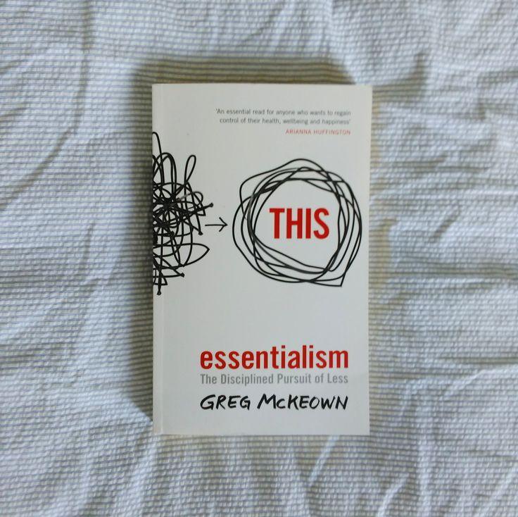 #theyearinbooks - Essentialism