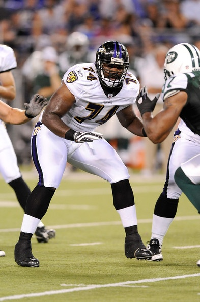 Michael Oher, Baltimore Ravens
