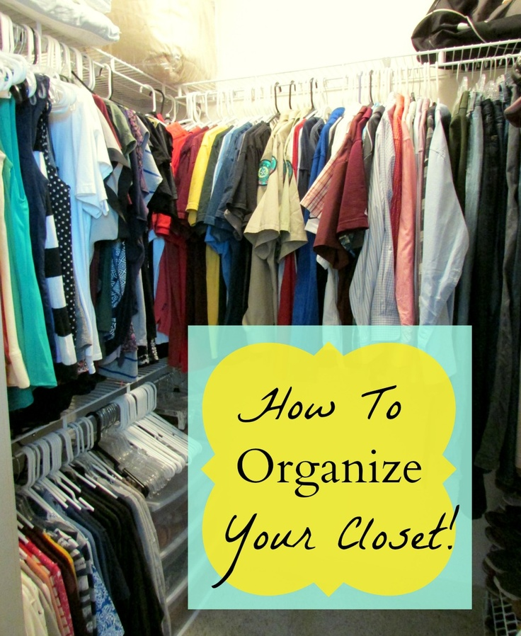 limited space organizing how to organize your closet 3 home organization storage tips. Black Bedroom Furniture Sets. Home Design Ideas