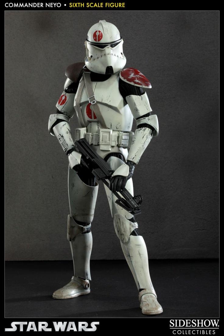 Figura star wars comandante neyo 30cm sideshow for Merchandising star wars