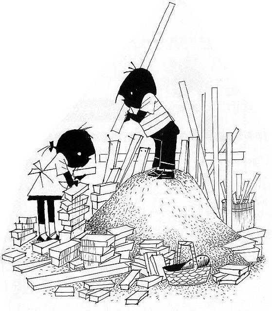 Jip en Janneke gaan bouwen by webatrem, via Flickr