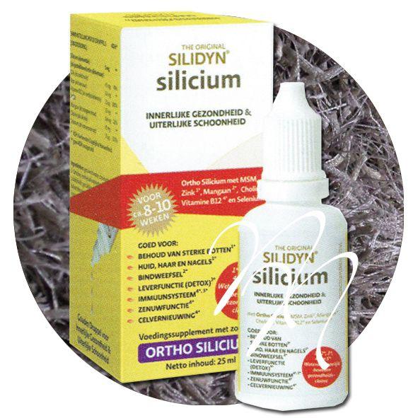 """Nieuw in onze shop, goed voor de nagels, huid en haar: Silicium het """"vergeten"""" mineraal Silicium in huid, haar en nagels De eerste tekenen van extra siliciumbehoefte worden over het algemeen teruggevonden in de kwaliteit van de huid, het haar en de nagels."""