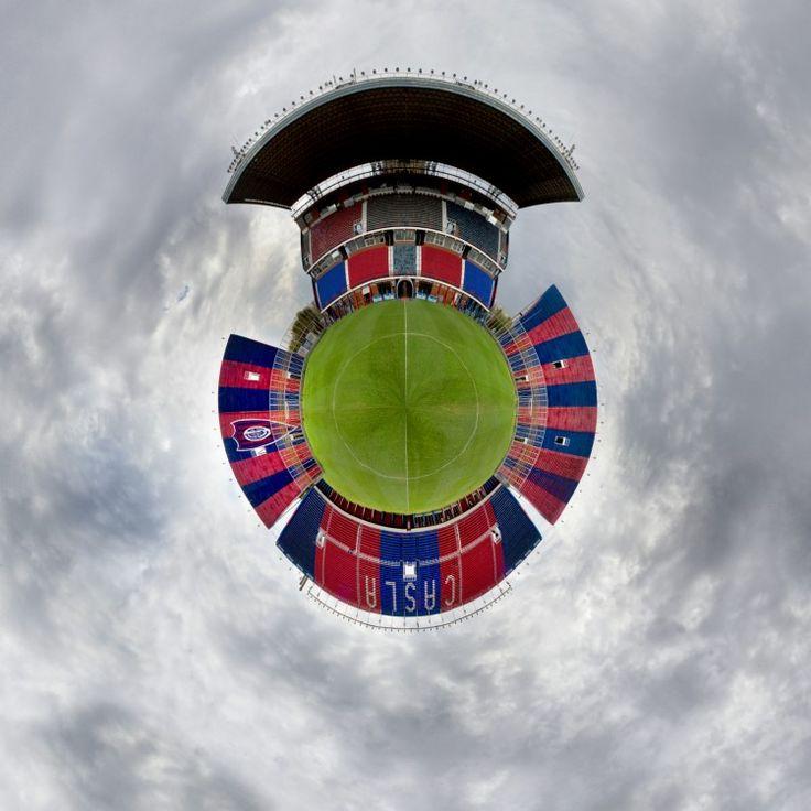 El fotógrafo brasileño Gabriel Uchida recorrió Argentina para armar estas increíbles imágenes de algunos Estadios de varias categorías.