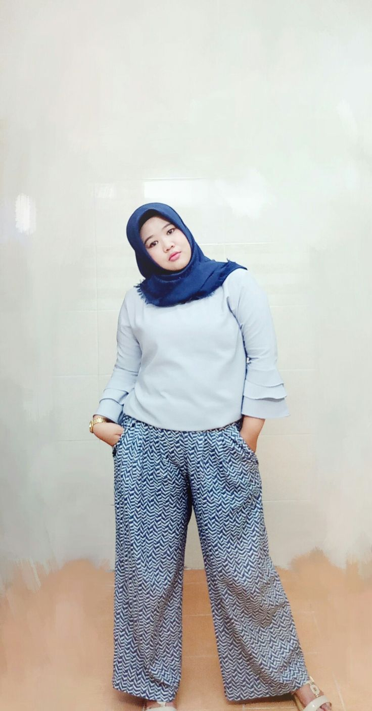 Simple think...  #denim #hijabstyle#plussize