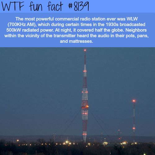 The most powerful radio station - WTF fun fact