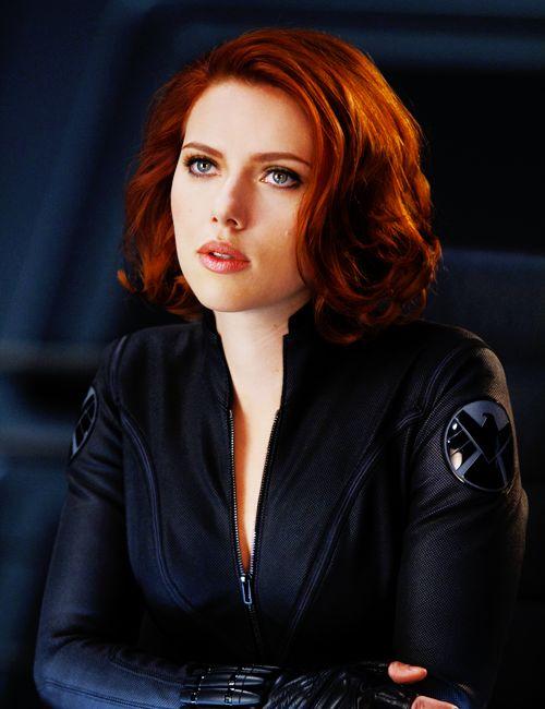 Scarlett Johansson's red hair | Hair | Pinterest