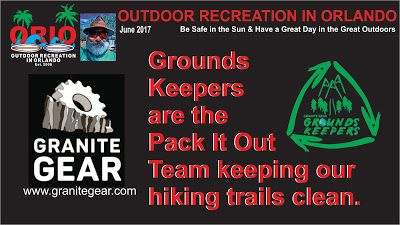 Outdoor Recreation In Orlando: Granite Gear Grounds Keepers Keeping Your Trails C...